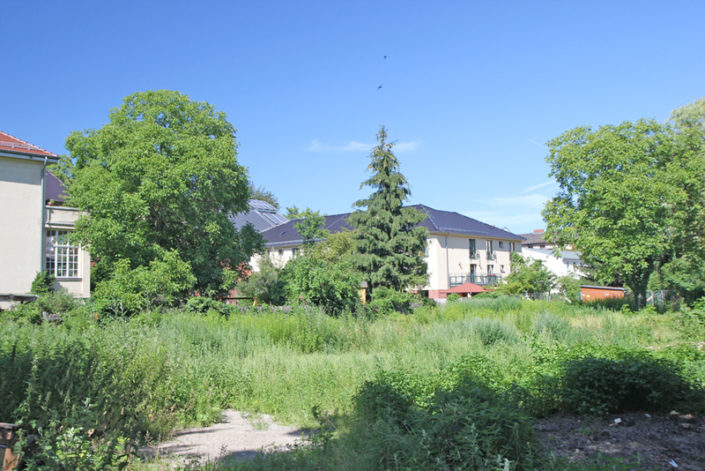 Baugrundstück für Mehrfamilienhaus in der Nansenstrasse