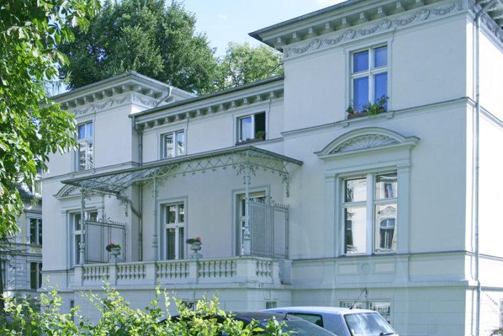 Vermietung von Büro u. Wohnung, Villa im Stadtzentrum