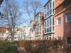 Vermietete Terrassenwohnung in Babelsberg mit Stellplatz & Wintergarten - Rückansicht Haus