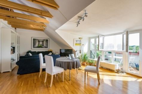 Exklusive, bezugsfreie Maisonettewohnung mit herrlichem Weitblick, 14469 Potsdam, Dachgeschosswohnung
