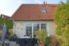 Idyllisches Wohnen in Michendorf direkt am Feld - Blick vom Garten