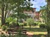 Vermietete Wohnung mit Loggia & Tiefgarage in bester Babelsberg-Lage - Rückansicht - Gemeinschaftsgarten