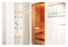 Luxuswohnung an der Elbe mit Aufzug und Sauna - In Ihrem Badezimmer befindet sich nicht nur Ihre persönliche Sauna, sondern auch