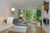Wohnung mit kleinem Garten in Potsdam Bornstedt - Wohnzimmer