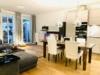 Stilvolle und ruhige Innenstadtwohnung mit Terrasse - Wohnzimmer