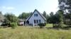 Ferienhaus in der Heide zwischen Vitte und Neuendorf - Westseite mit Terrasse