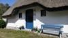 Ferienhaus in der Heide zwischen Vitte und Neuendorf - Eingangstür
