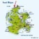 Derzeit reserviert - Insel Rügen - Ferienhaus ruhige Lage - Inselkarte