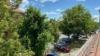 Domizil in TOP-Lage! + Sauna + gemeinschaftlichem Innenhof + Gewerbeflächen - Ausblick aus dem Fenster der 4-Zimmerwohnung im Vorderhaus
