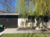 Domizil in TOP-Lage! + Sauna + gemeinschaftlichem Innenhof + Gewerbeflächen - Blick vom Garten auf das Nebengebäude 1