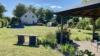 Traumhaftes Familiendomizil mit Weitblick. - Blick auf das Haus aus dem Garten