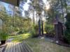 Hochwertiger Bungalow auf großem Südgrundstück in idyllischer Waldrand-Lage - Außendusche